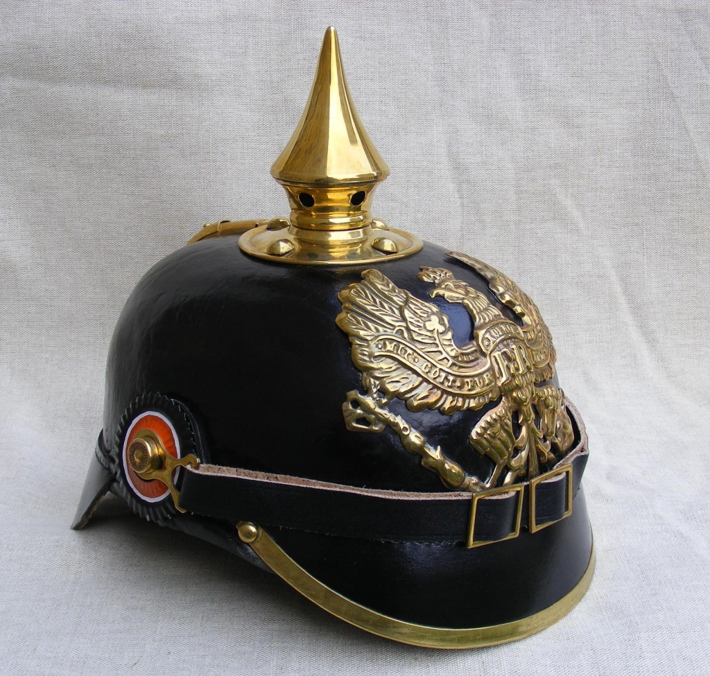 Forcing Scissors to eat a pointy pickelhaube, what better motivation can Fair Enough get?